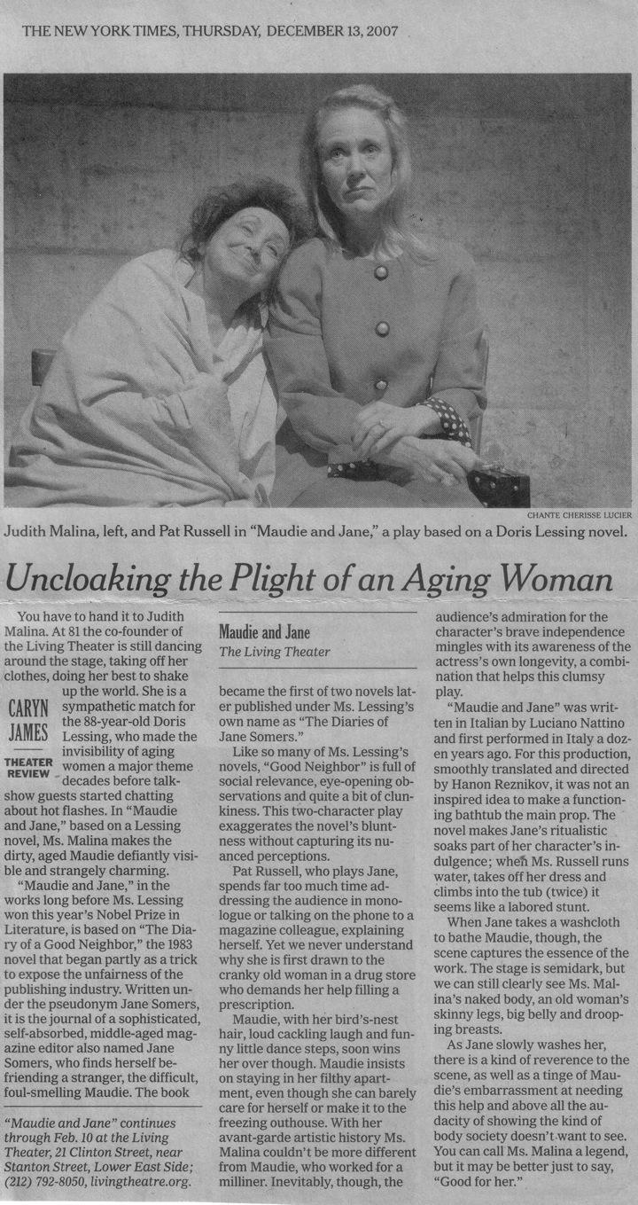 Maude NY Times