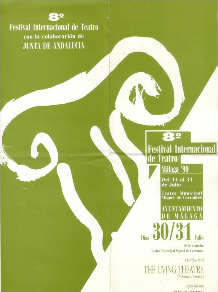 1990 european tour malaga flyer