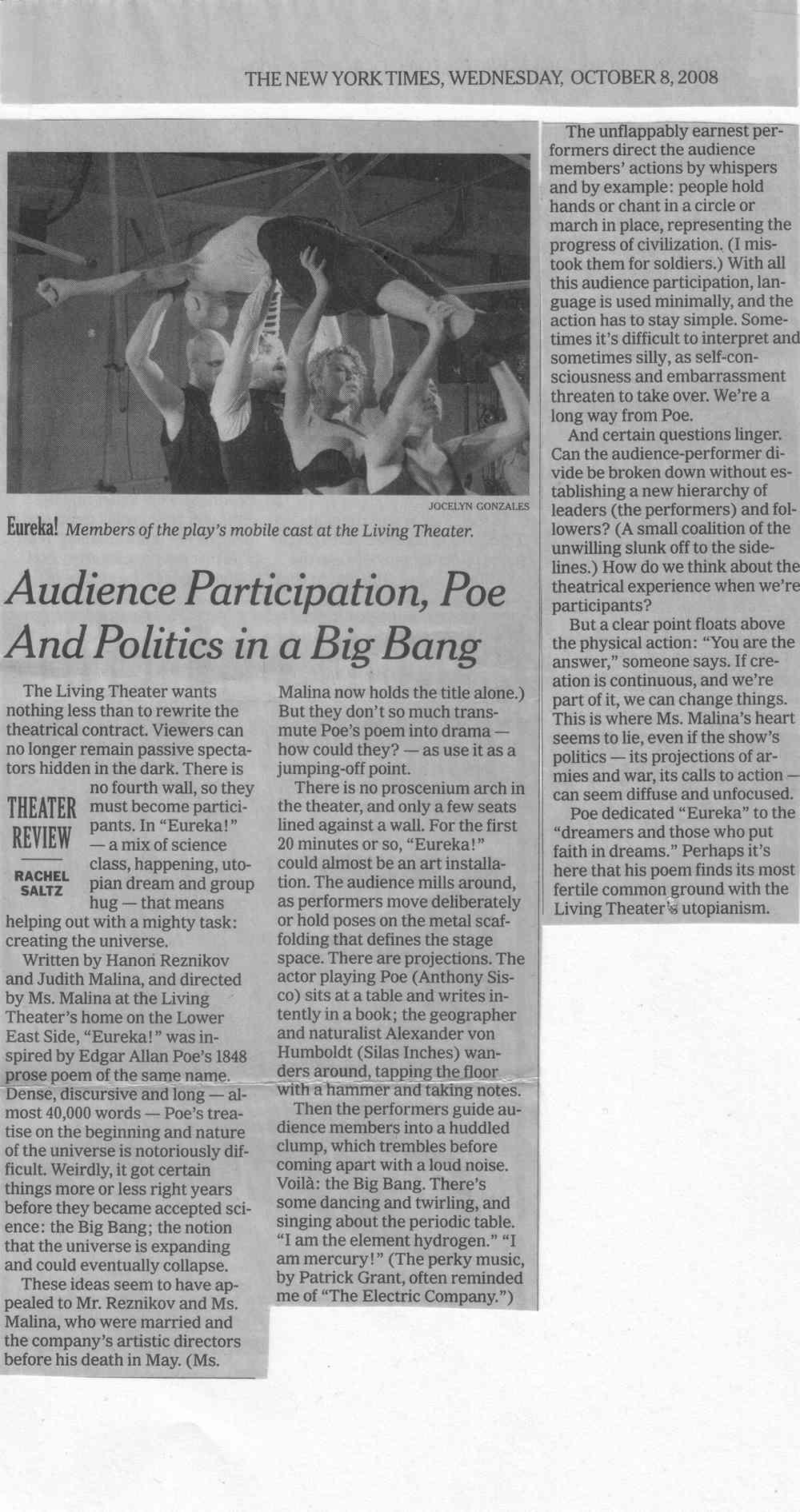 Eureka NY Times