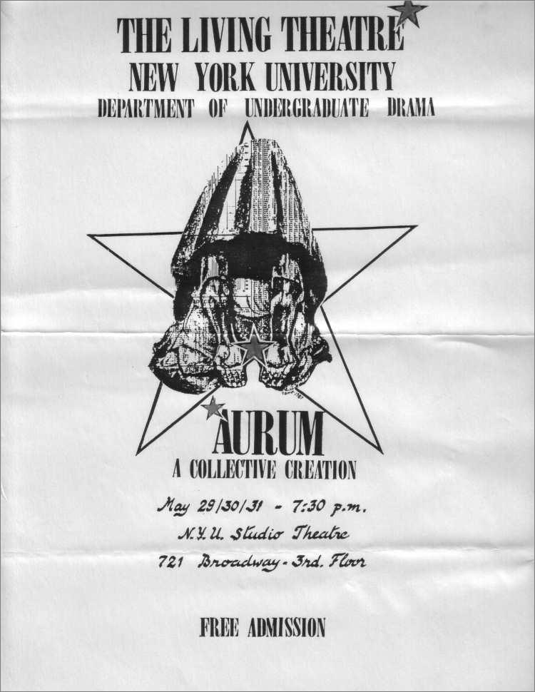 1987 aurum poster