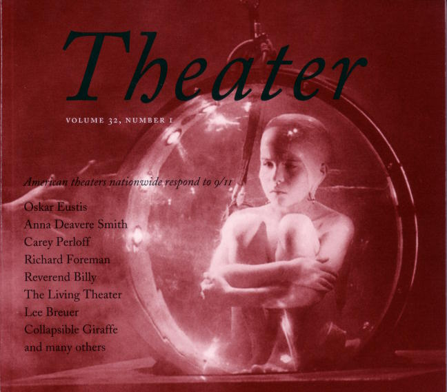 2001-09-11 yale drama cover