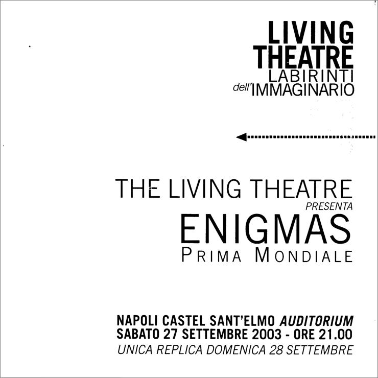 2003-09-enigmas program 1