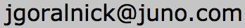 jgoralnick mail
