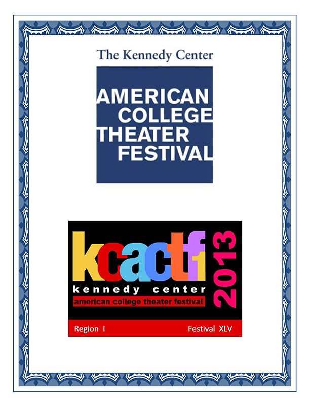 Kennedy Center ACTF Program January 2013, p. 1