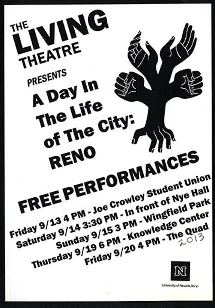University of Nevada, Reno January 2013 Flyer