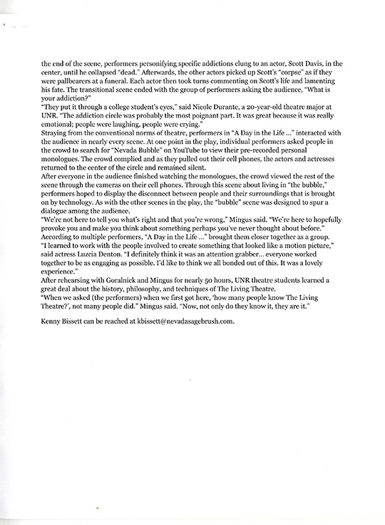 University of Nevada/Reno Review Page 2