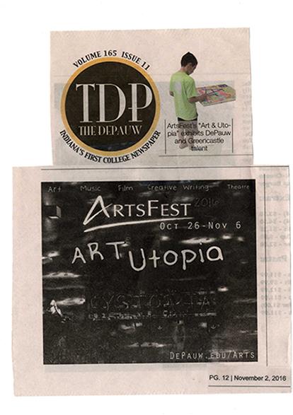 Depauw ArtFest November 2016